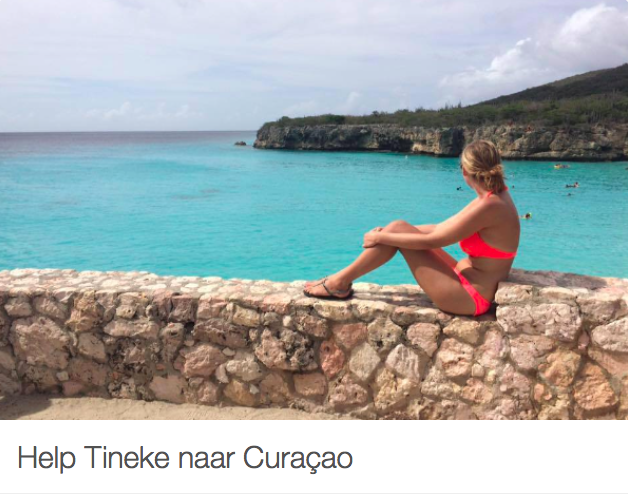Help Tineke naar Curaçao