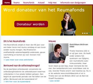 Reumafonds.nl 2012