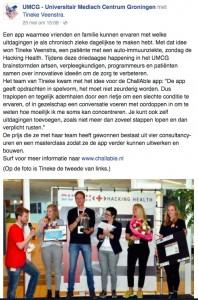 UMCG Facebook 2016